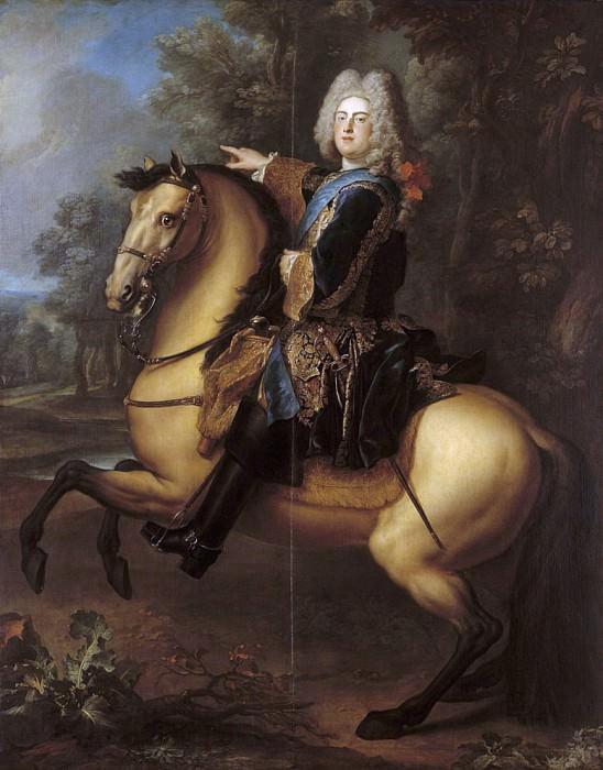 King Augustus III (1696-1763) of Poland as Prince. Louis de Silvestre