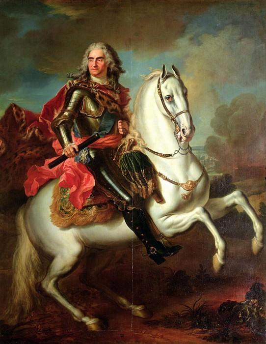 Фредерик Август II (1670-1733), курфюрст Саксонии и король Польши. Луи де Сильвестр