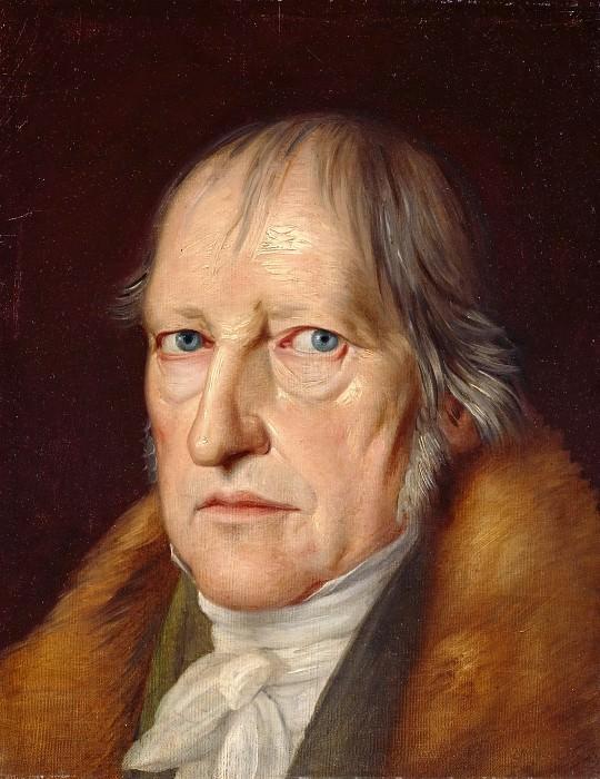 Georg Friedrich Wilhelm Hegel. Jakob Schlesinger