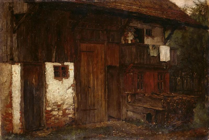 Farmhouse. Johann Sperl