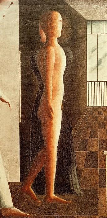 Обнаженная женщина. Оскар Шлеммер