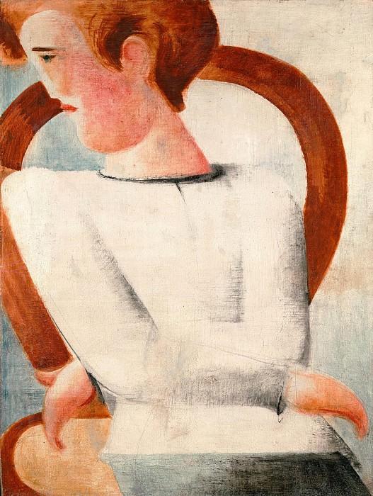Youth in white. Oskar Schlemmer