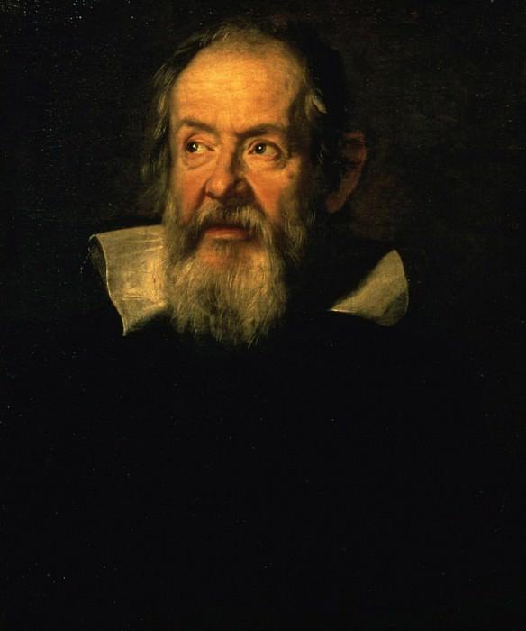 Portrait Of Galileo Galilei (1564-1642). Justus Sustermans