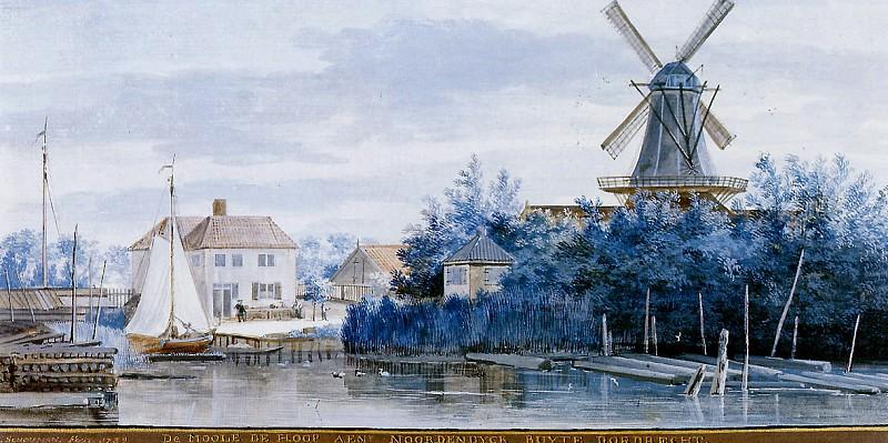 Schouman Aert Windmill the hoop Sun. Aert Schouman