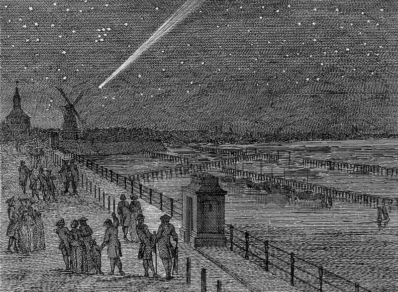 Schouman Aert Comet Amsterdam 1769 Sun. Aert Schouman