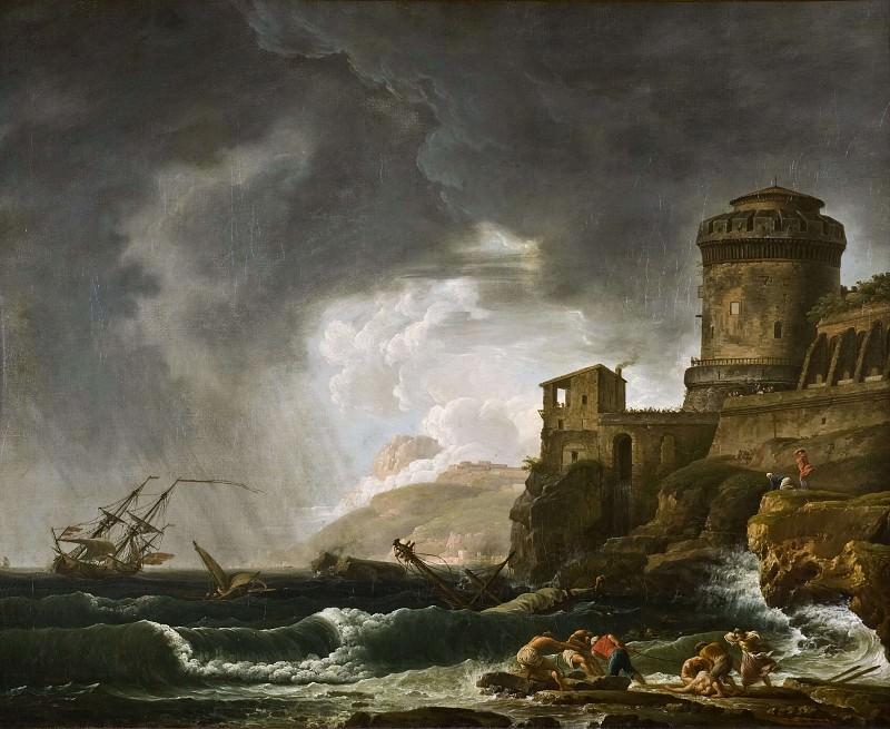 A Shipwreck. Johan Sevenbom