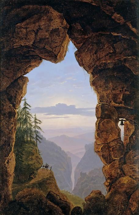Скальные ворота. Карл Фридрих Шинкель