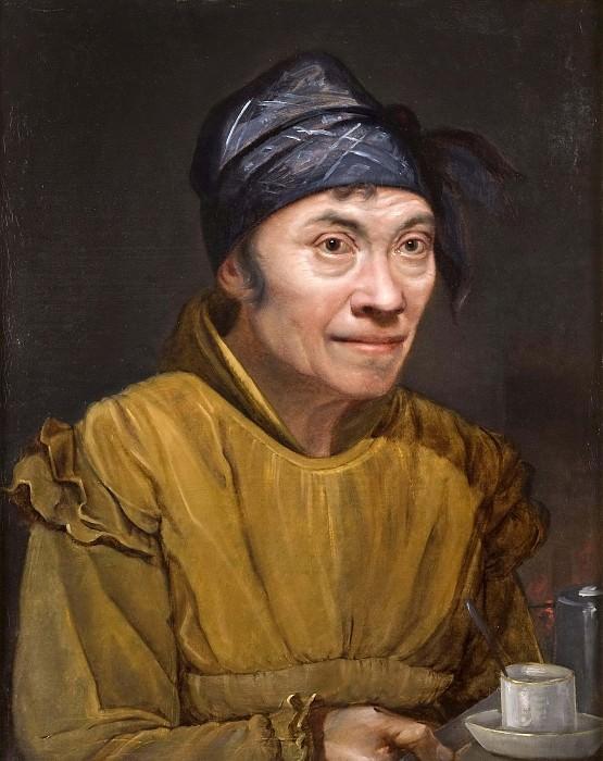 Portrait of Signora Vincensa. Olof Johan Sodermark