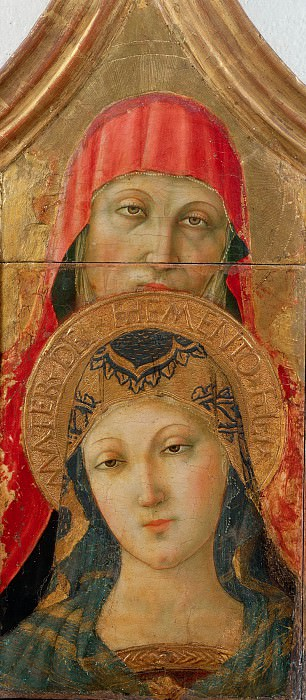 The Virgin with Saint Anne. Lorenzo d'Alessandro