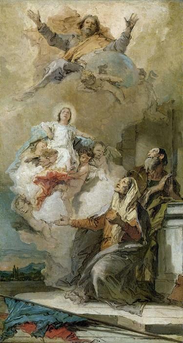 The Immaculate. Giovanni Battista Tiepolo