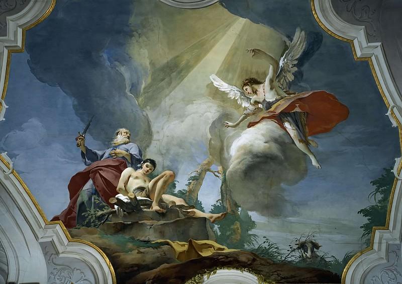 The Sacrifice of Isaac. Giovanni Battista Tiepolo