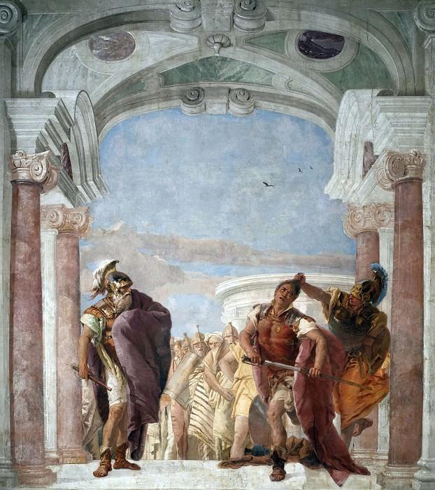 Rage of Achilles. Giovanni Battista Tiepolo