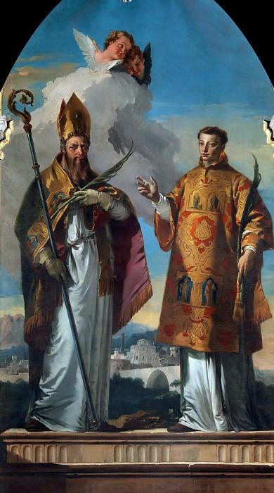 Saints Hermagoras and Fortunatus of Aquileia. Giovanni Battista Tiepolo