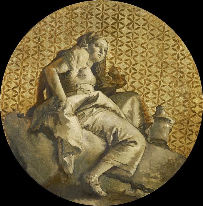 Polymnia. Giovanni Battista Tiepolo