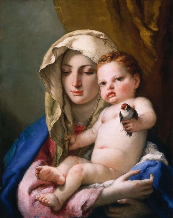 Madonna of the Goldfinch. Giovanni Battista Tiepolo
