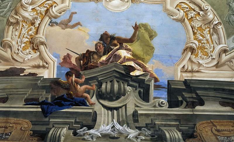 Правосудие, дающее торжествовать Согласию. Джованни Баттиста Тьеполо