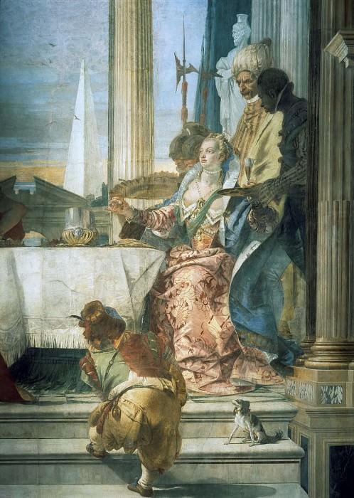Пир Клеопатры, фрагмент. Джованни Баттиста Тьеполо