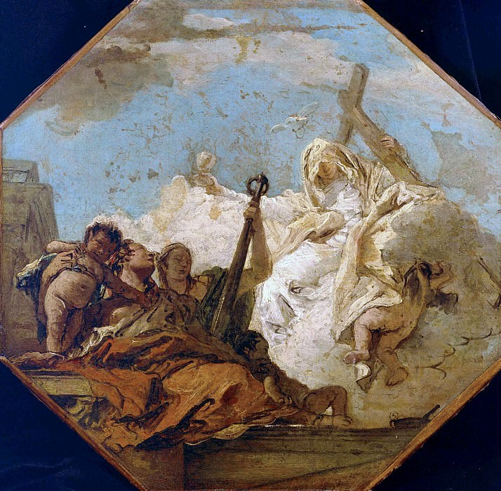 The Theological Virtues. Giovanni Battista Tiepolo