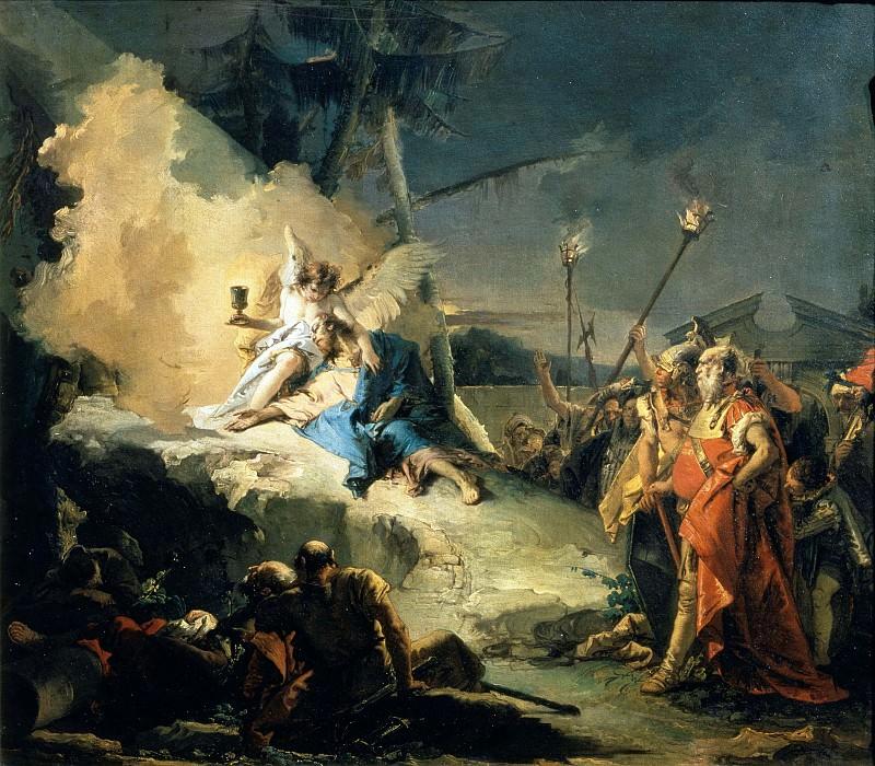 Христос в Гефсиманском саду. Джованни Баттиста Тьеполо