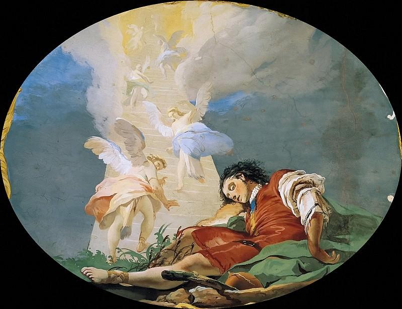 Jacobs dream. Giovanni Battista Tiepolo