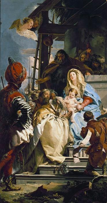 Adoration of the Magi. Giovanni Battista Tiepolo
