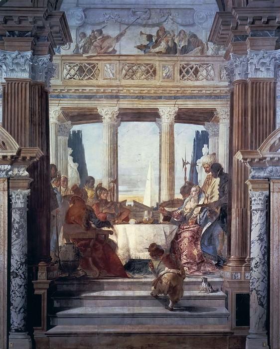 The Banquet of Cleopatra. Giovanni Battista Tiepolo