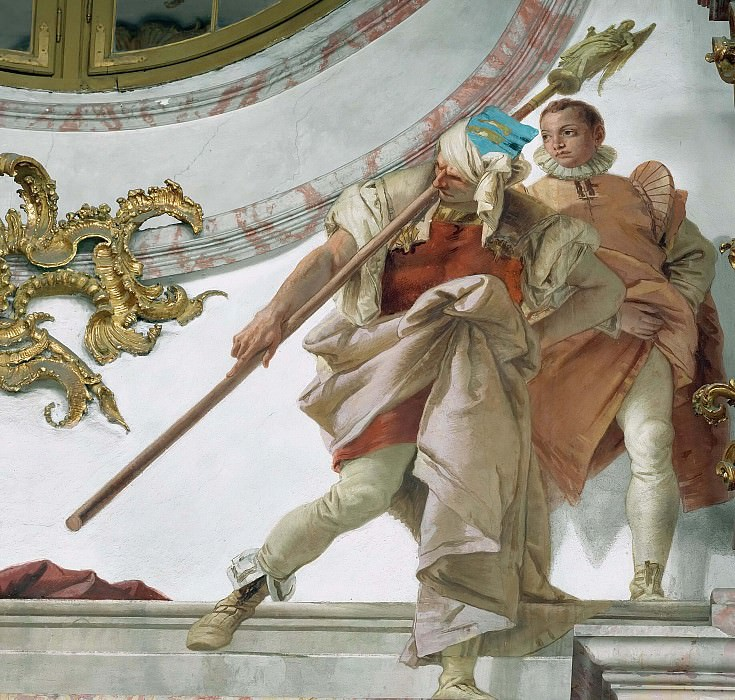 Heralds and page. Giovanni Battista Tiepolo