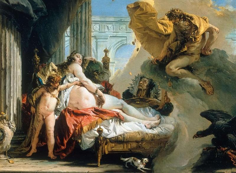 Danae. Giovanni Battista Tiepolo