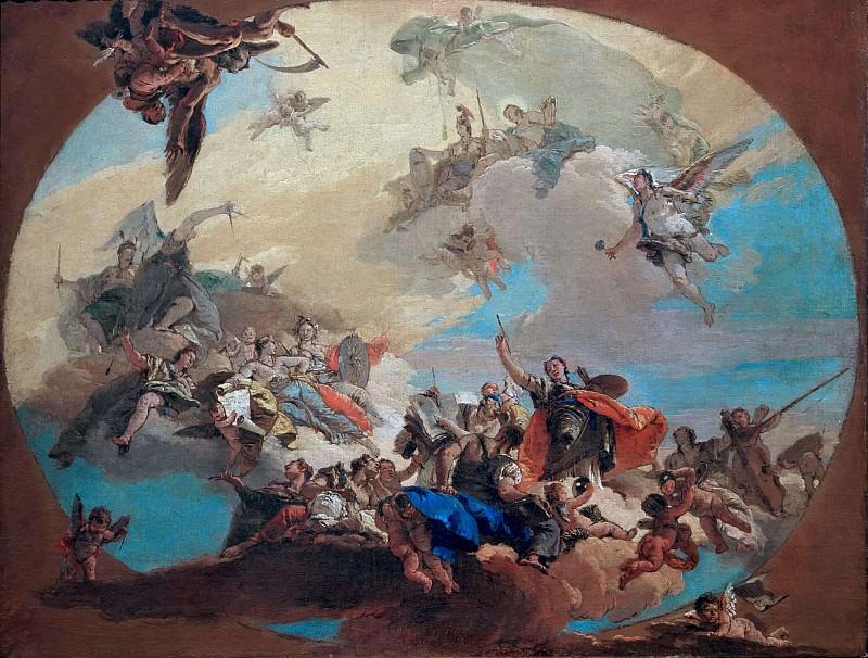 Триумф искусств. Джованни Баттиста Тьеполо