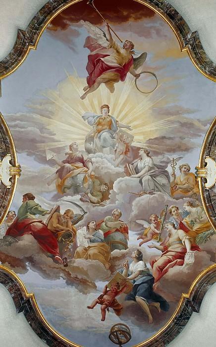 Allegories. Giovanni Battista Tiepolo (workshop)