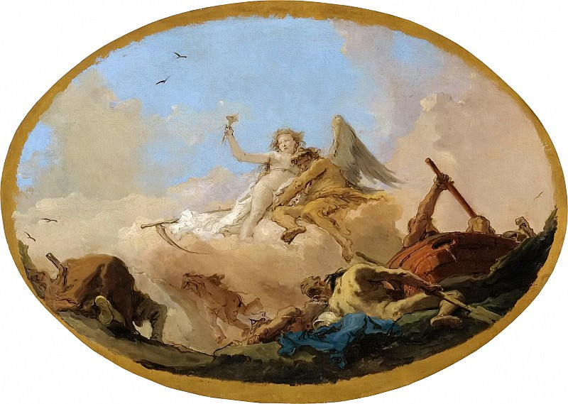 TIME DISCOVERING TRUTH. Giovanni Battista Tiepolo