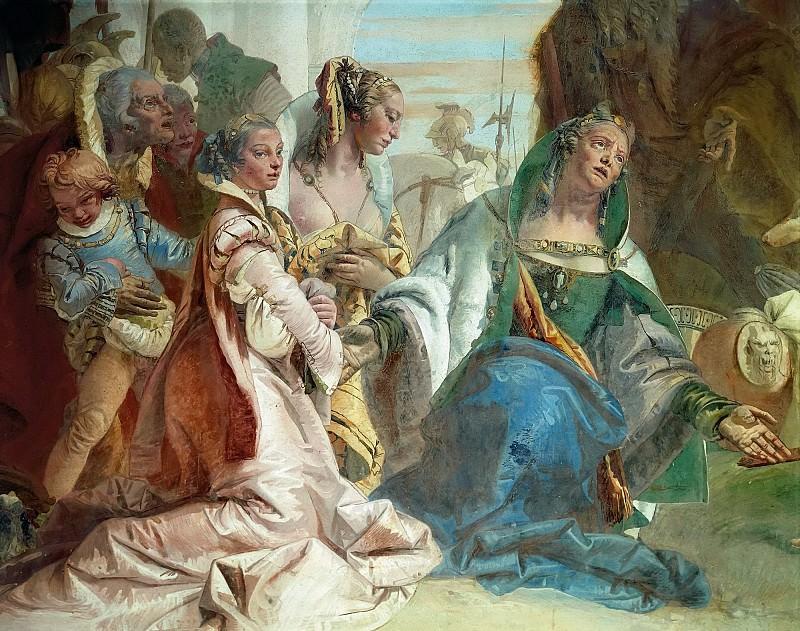 Александр Великий и семья Дария (фрагмент). Джованни Баттиста Тьеполо
