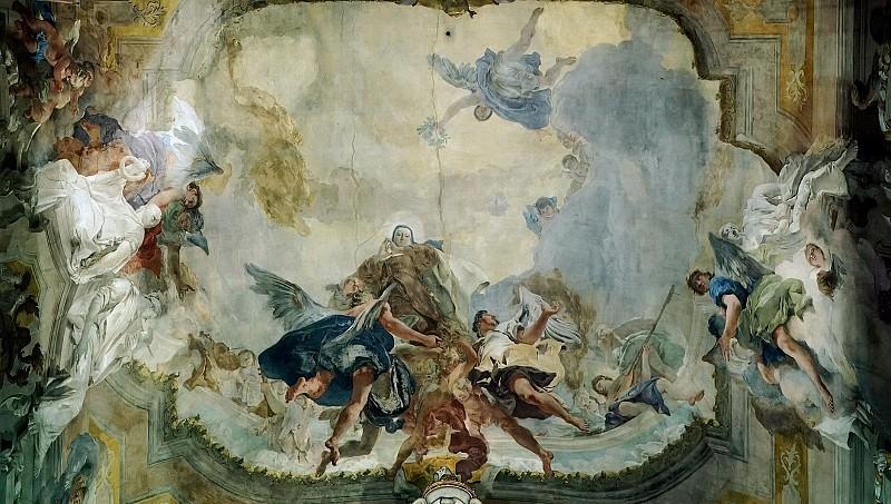 Апофеоз святой Терезы. Джованни Баттиста Тьеполо