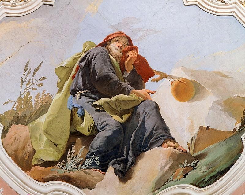 Пророк Иеремия. Джованни Баттиста Тьеполо