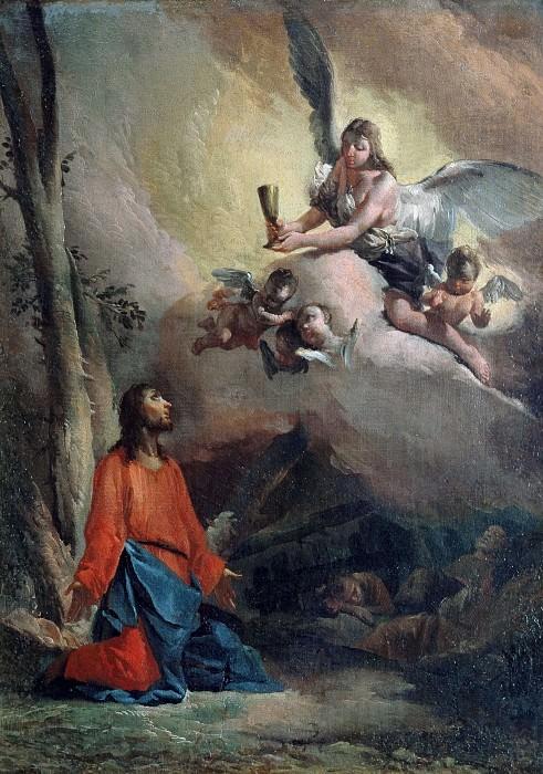 Christ in Gethsemane. Giovanni Battista Tiepolo