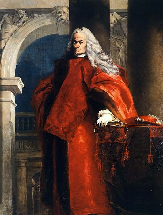 Portrait of Attorney Querini. Giovanni Battista Tiepolo