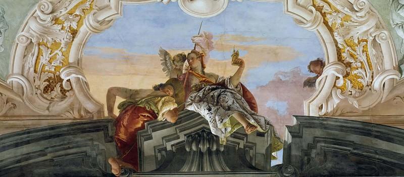 Благородство, торжествующее над Завистью. Джованни Баттиста Тьеполо