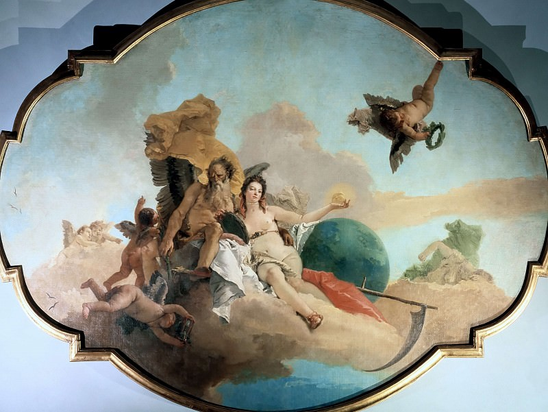 The Triumph of Truth. Giovanni Battista Tiepolo