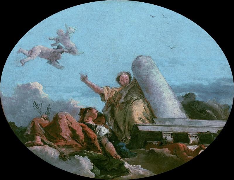 Allegory of Peace. Giovanni Battista Tiepolo