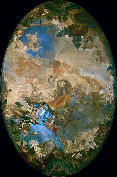 The Triumph of Faith. Giovanni Battista Tiepolo