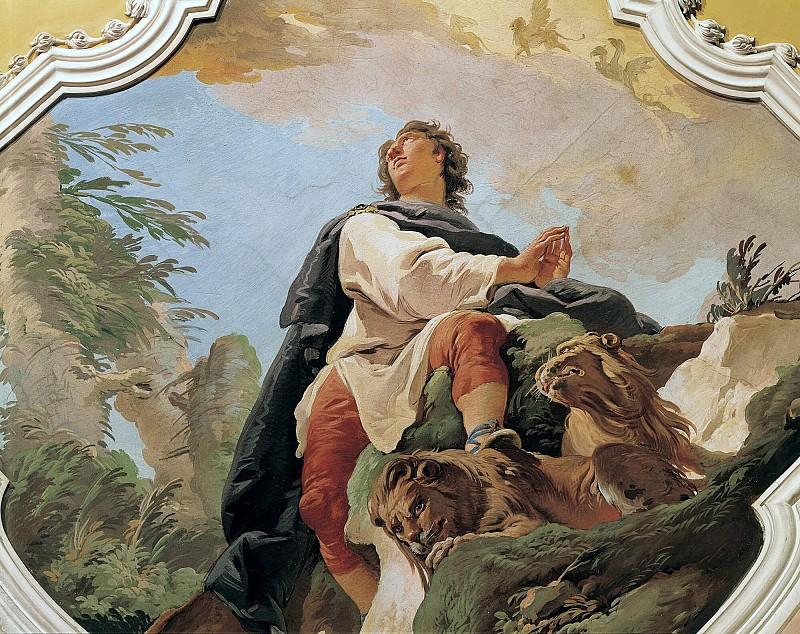 The prophet Daniel. Giovanni Battista Tiepolo