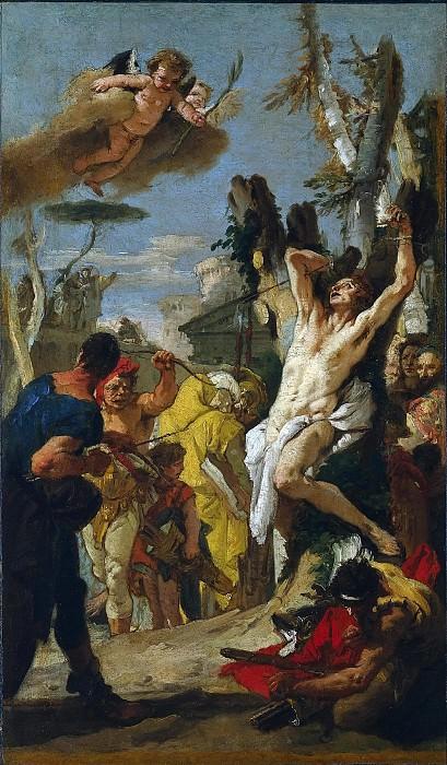 Мученичество святого Себастьяна. Джованни Баттиста Тьеполо
