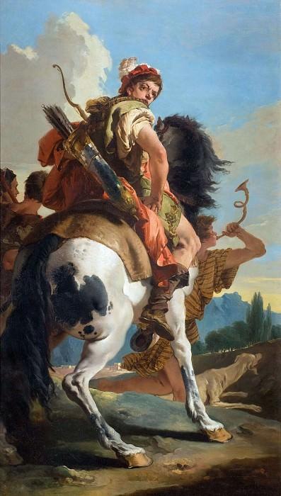 Hunter on Horseback. Giovanni Battista Tiepolo