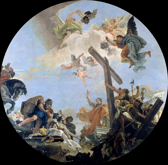 The glorfication of the Cross. Giovanni Battista Tiepolo