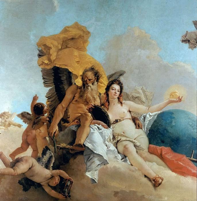 Триумф Истины (фрагмент). Джованни Баттиста Тьеполо
