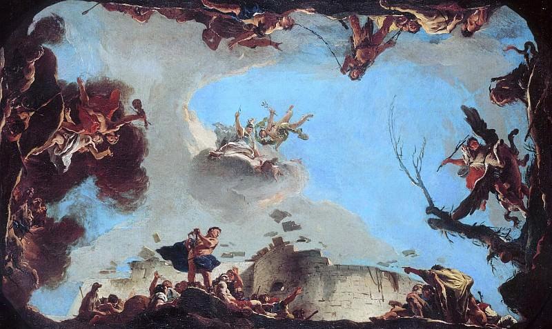 Аллегория силы красноречия. Giovanni Battista Tiepolo
