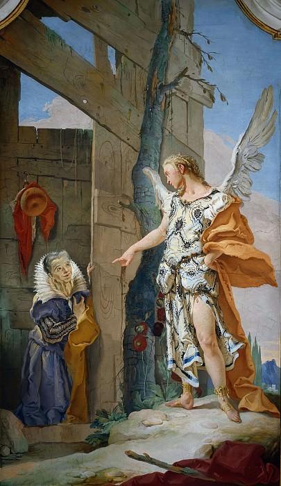Sarah and the Angel. Giovanni Battista Tiepolo