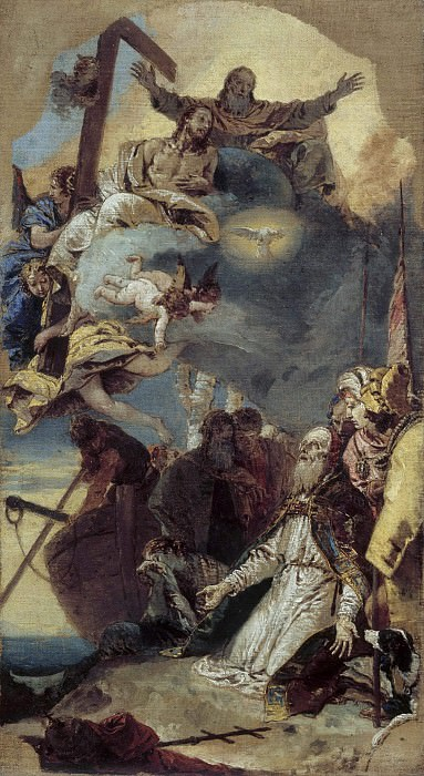 Martyrdom of Saint Clement. Giovanni Battista Tiepolo