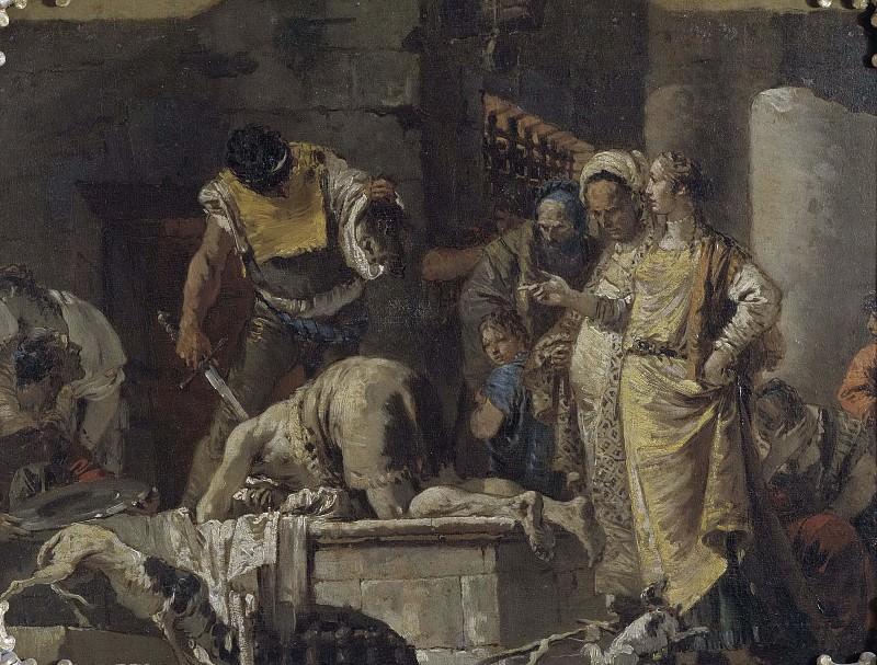 The Beheading of St John the Baptist. Giovanni Battista Tiepolo