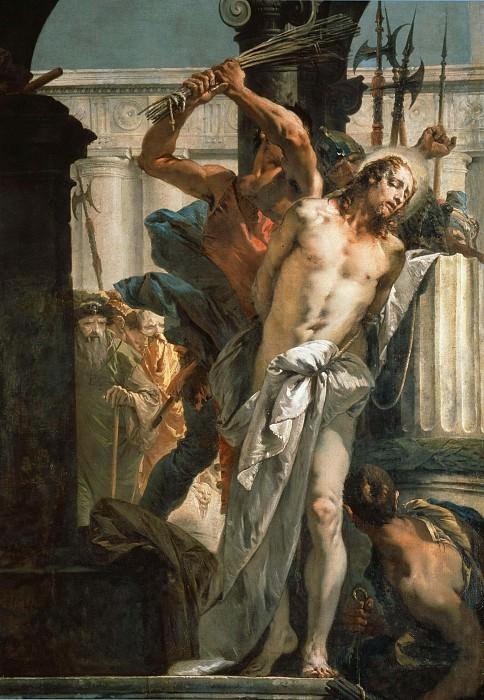 The Flagellation of Christ. Giovanni Battista Tiepolo